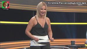 Cristina Ferreira sensual na Tvi