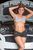 Stephy Parker - Stephys Working On The Car -p4foaaup2u.jpg