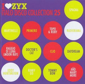 VA - I Love ZYX Italo Collection vol.25 (3CD) (2018)