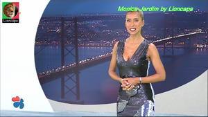 Monica Jardim sensual na Tvi