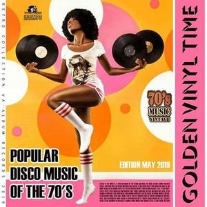 VA - Golden Vinil Time: Popular Disco Music Of The 70s (2019)