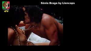 Sónia Braga nua no filme A Dama da lotação