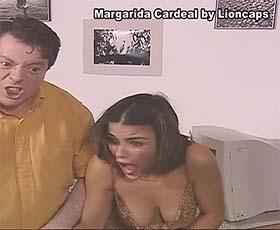 Margarida Cardeal sensual na novela Saber Amar