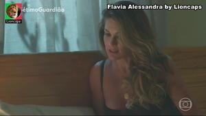 Flavia Alessandra sensual na novela Setimo Guardião