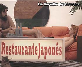 Lia Carvalho nua na serie Lisboa Azul