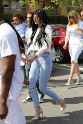 Kylie Jenner - Sexy Denim Booty Shots & High Heels In Agoura Hills (4/7/15)
