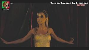 TEresa Tavares sensual em vários momentos