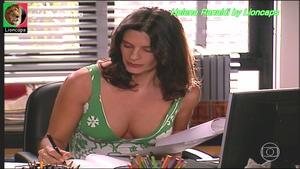 Helena Ranaldi sensual na novela Paginas da Vida