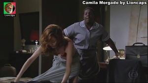 Camila Morgado sensual em vários trabalhos