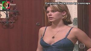 Carolina Dieckmann sensual nas novelas Por Amor e Setimo Guardião