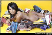Cris Jorick naked around sneaks: picture #39