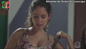 Amanda de Godoi sensual em Malhação