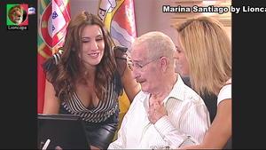 Helena Costa sensual na novela Anjo Meu