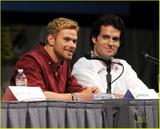 'Immortals' at Comic Con-(July 23) in San Diego, Calif.-Freida Pinto, Henry Cavill, Kellan Lutz, Luke Evans, Stephen Dorff