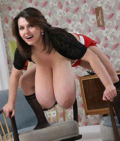 Milena Velba Hanging Tits