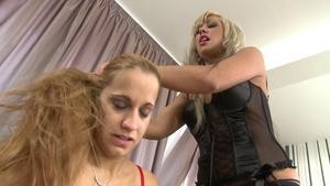 Hunterotic: Hairpulling Girls -By Domina Adriana Rousso And Her Slave Baba