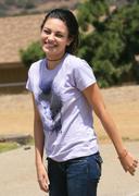 Mila Kunis -  VERY HAPPY!!