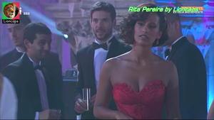Rita Pereira sensual na novela Remedio Santo
