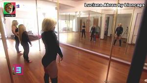 Luciana Abreu sensual em dança do Varão