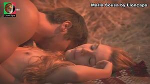 Maria Sousa nua na novela Belmonte